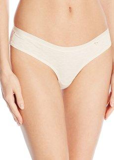 Kensie Women's Abby Lace Back Cheekini Panty