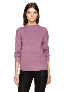 kensie Women's Acrylic Knit Mockneck Sweater  S