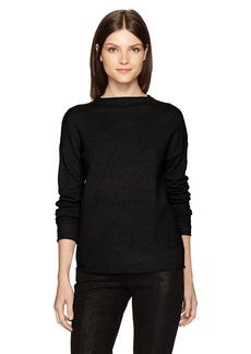 Kensie Women's Acrylic Knit Mockneck Sweater  XS