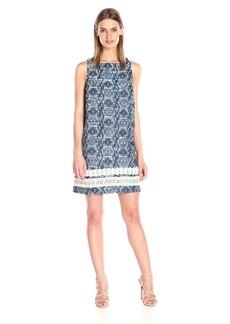 Kensie Women's Aztec Brocade Dress