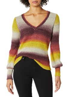 kensie Women's Blended Ombre Sweater  M