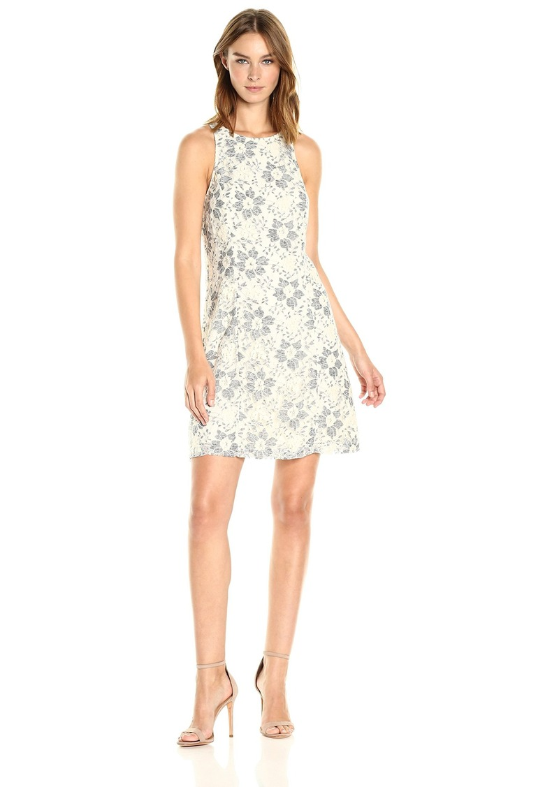 kensie Women's Blossom Lace Dress  S