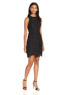 Kensie Women's Bold Garden Lace Dress  L