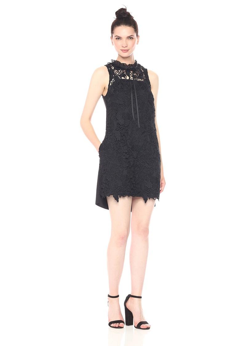 Kensie Women's Bold Garden Lace Dress  L