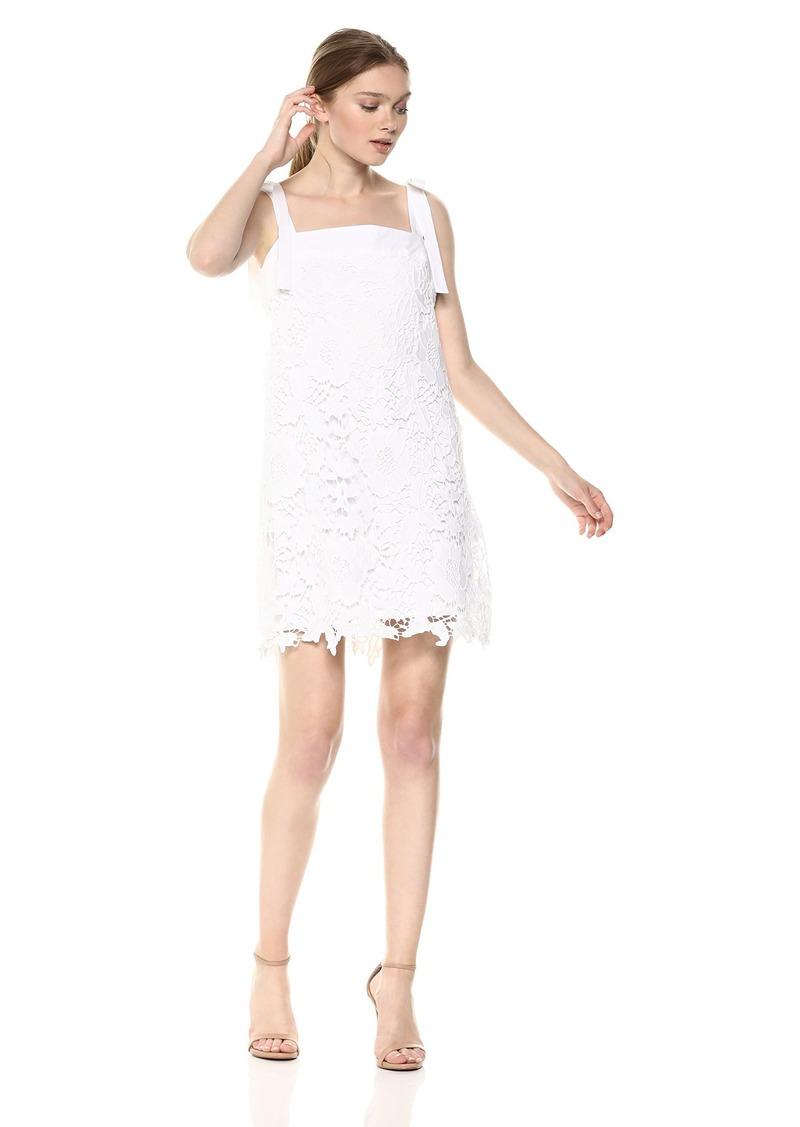 kensie Women's Bold Garden Lace Dress  S