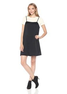 Kensie Women's Cami Dress with T-Shirt  L