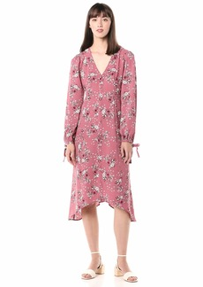 kensie Women's Charmed Bouquets Midi Dress  Extra Large