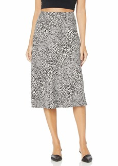 kensie Women's Cheetah Print Skirt
