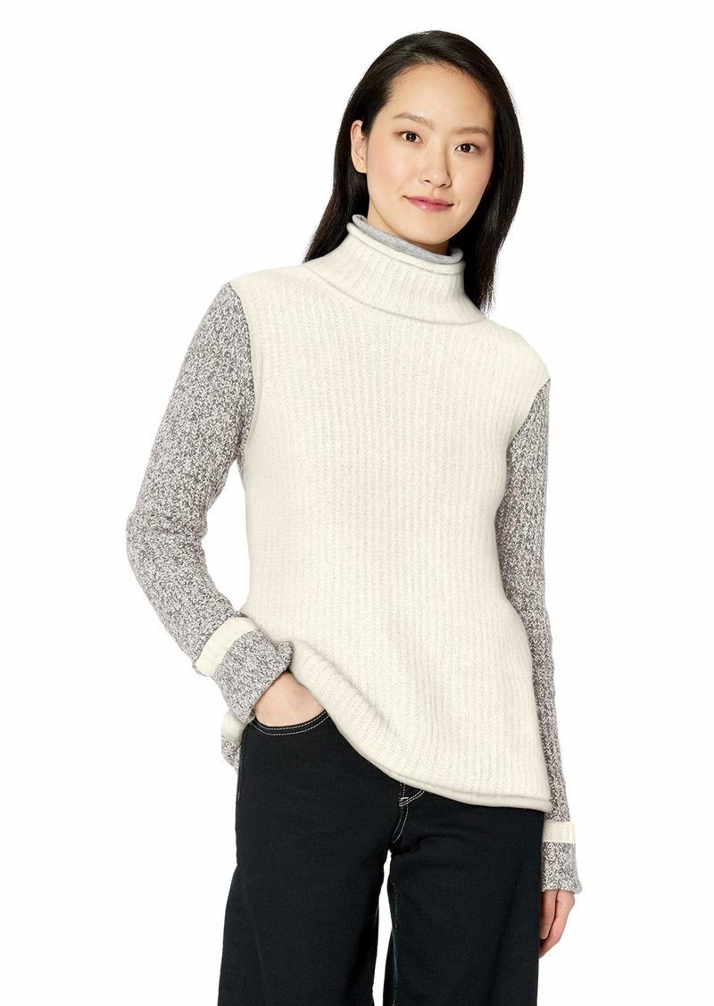kensie Women's Colorblock Sweater  XL