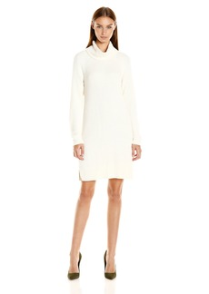 Kensie Women's Cotton Blend Long Sleeve Sweater Dress  S
