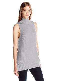 Kensie Women's Cotton Blend Sleeveless Sweater  S