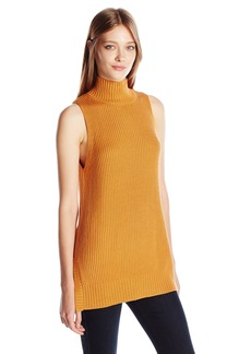 Kensie Women's Cotton Blend Sleeveless Sweater  XS