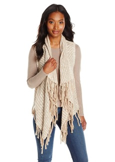 Kensie Women's Cotton Blend Slub Vest