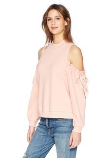 kensie Women's Cozy Fleece Sweatshirt  S