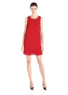 Kensie Women's Crepe Chiffon Dress