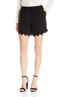 Kensie Women's Crepe Chiffon Shorts