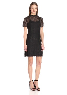 Kensie Women's Dainty Lace Dress  XL