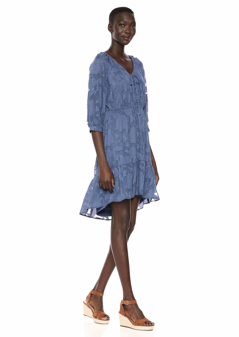 kensie Women's Delicate Burn-Out Dress  Extra Small