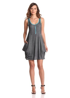 kensie Women's Denim French Terry Dress