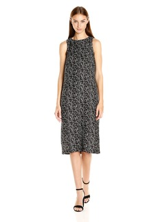 Kensie Women's Doodle Face Dress  M