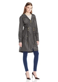 Kensie Women's Double Drawstring Anorak