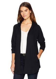 kensie Women's Drapey Fleece Jacket  M