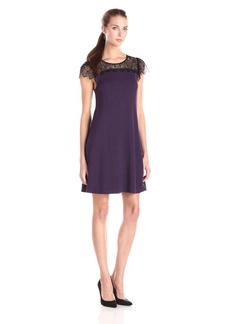 Kensie Women's Drapey French Terry Dress