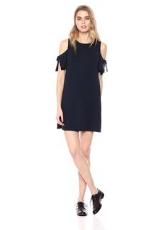 kensie Women's Drapey French Terry Dress  L