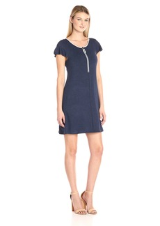 kensie Women's Drapey French Terry Dress  M