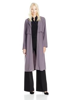 Kensie Women's Drapey Soft Crepe Jacket  L