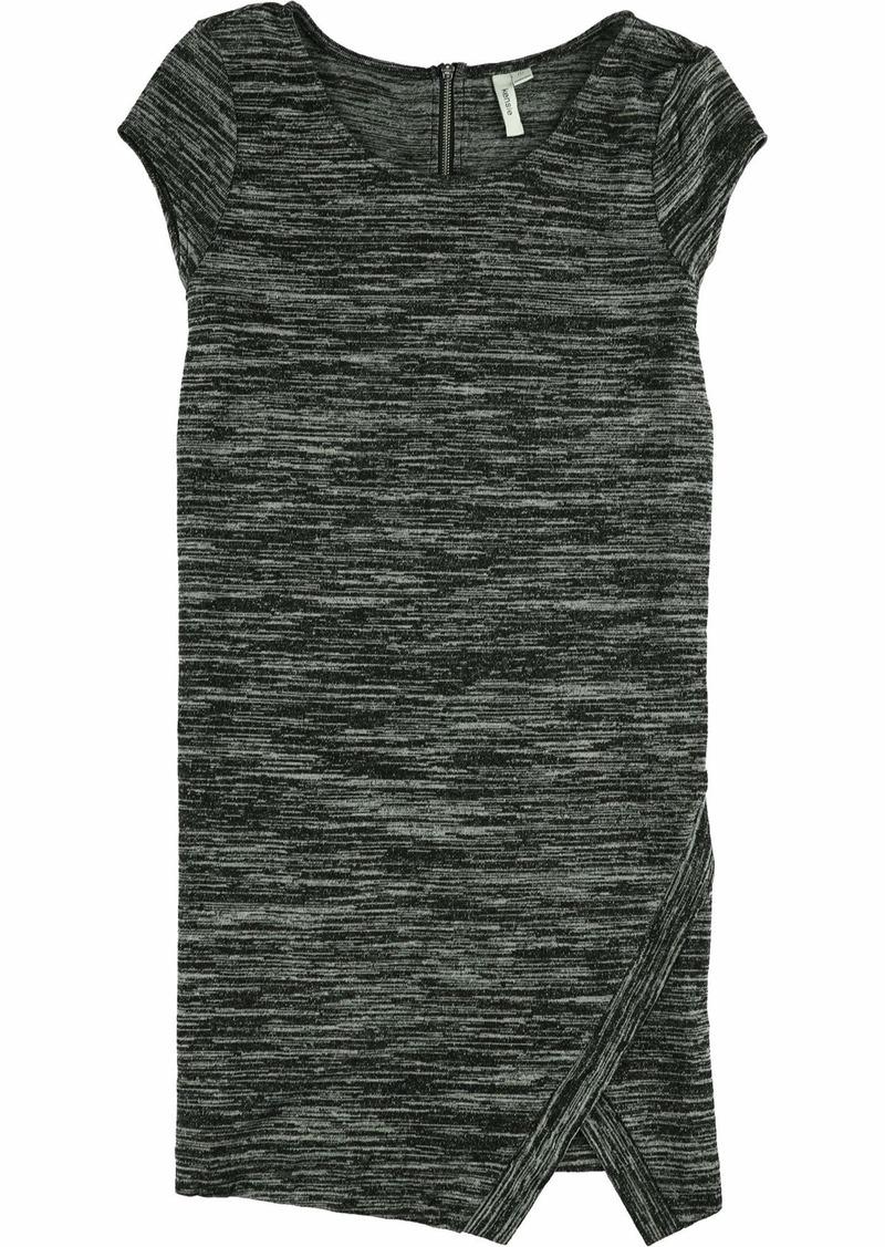 kensie Women's Drapey Space Dye Cap Sleeve Dress  M
