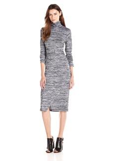 Kensie Women's Drapey Space Dye Dress