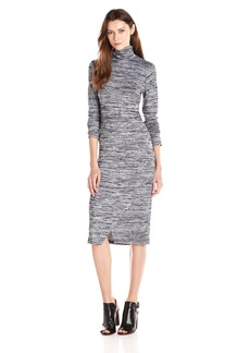 Kensie Women's Drapey Space Dye Dress