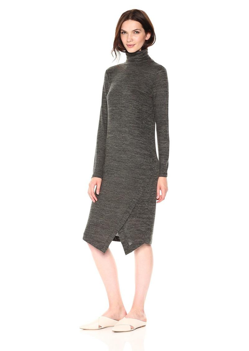 kensie Women's Drapey Space Dye Dress  L