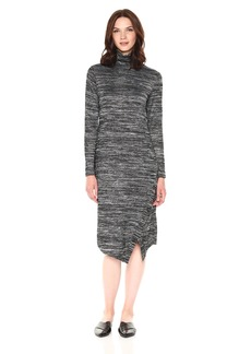 kensie Women's Drapey Space Dye Dress  XL