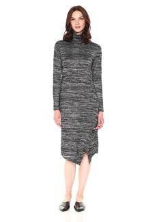 kensie Women's Drapey Space Dye Dress  XS