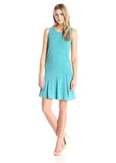 Kensie Women's Drapey Space Dye Jersey Dress