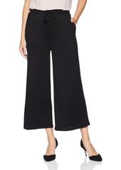 kensie Women's Drapey Wide Rib Mixi Pant  XS