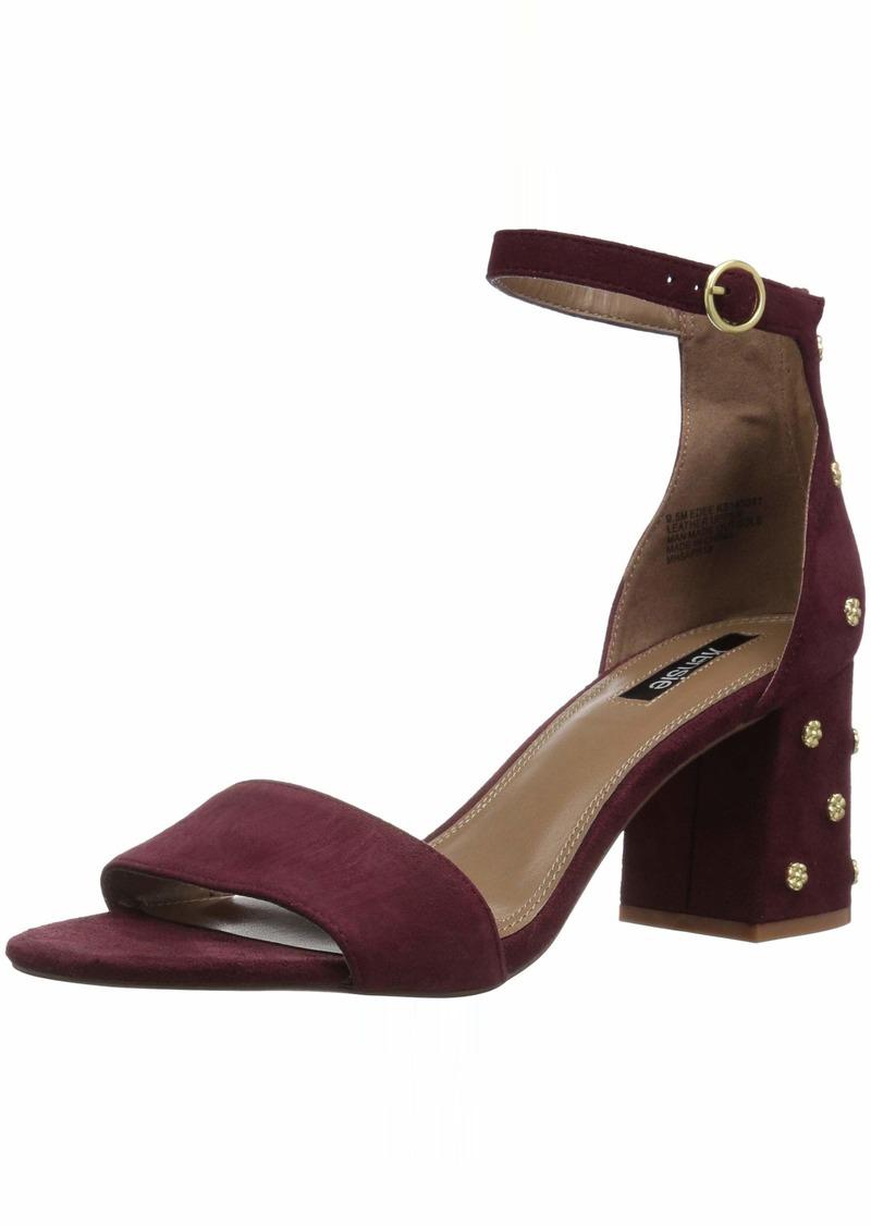 kensie Women's Edee Heeled Sandal   M US
