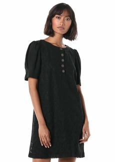 kensie Women's Etched Lace Dress  Extra Large