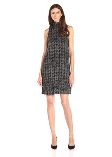 Kensie Women's Faded Herringbone Dress
