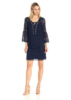 Kensie Women's Femme Lace Dress  XL