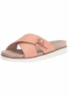 kensie womens Flat Slide Sandal   US