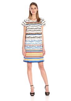 Kensie Women's Floral Stripes Dress