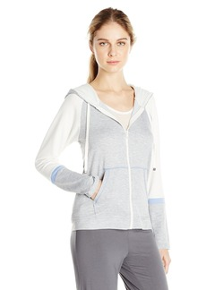 Kensie Women's French Terry Zip Hoodie  M