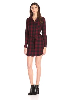 Kensie Women's Herringbone Plaid Dress