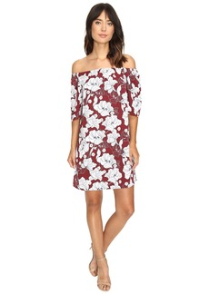 kensie Women's Hippy Floral Printed Dress
