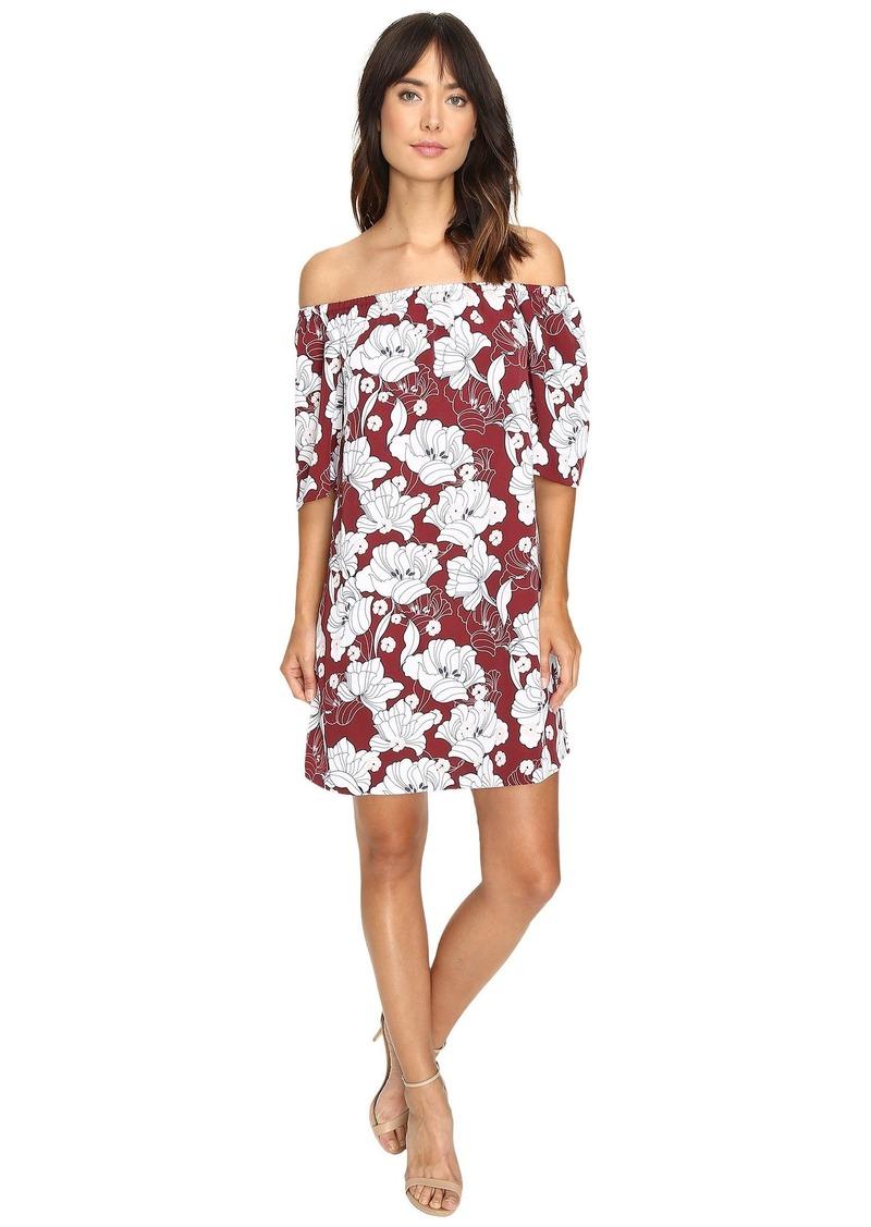 kensie Women's Hippy Floral Printed Dress