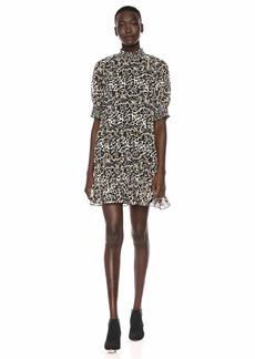 kensie Women's Ink Splotch Dress