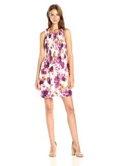 Kensie Women's Japanese Garden Dress  M